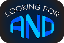 Looking for AND podcast logo