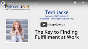 ExecuNet Interview with Terri Jacke