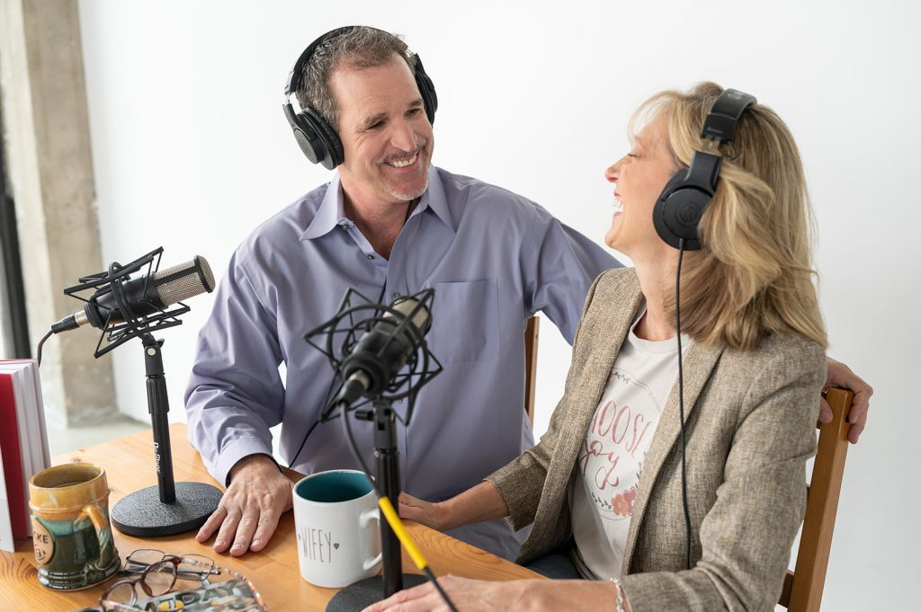 Terri and Chris enjoy making an episode of the podcast